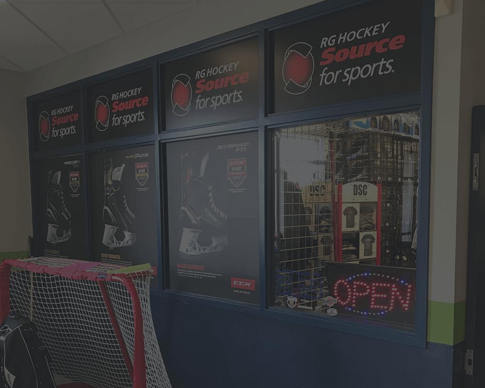 RG Hockey FW Store Front